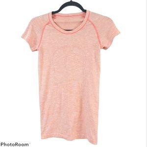 Lululemon Swiftly Tech Short Sleeves Orange Pastel